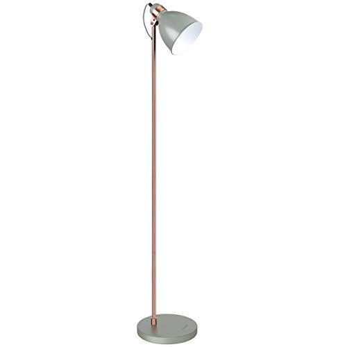 tomons Stehlampe, LED Stehleuchte Moderne Leseleuchten Metall für Arbeitszimmer, Wohnzimmer und Schlafzimmer, Lampenkopf Kann Eingestellt Werden