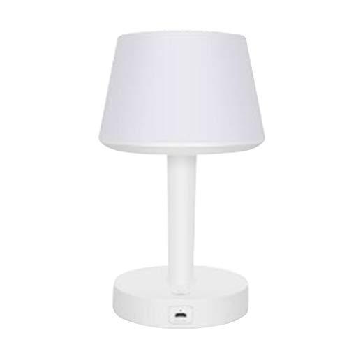 Uonlytech - Lámpara de Mesa portátil inalámbrica con Bluetooth (1 Unidad)