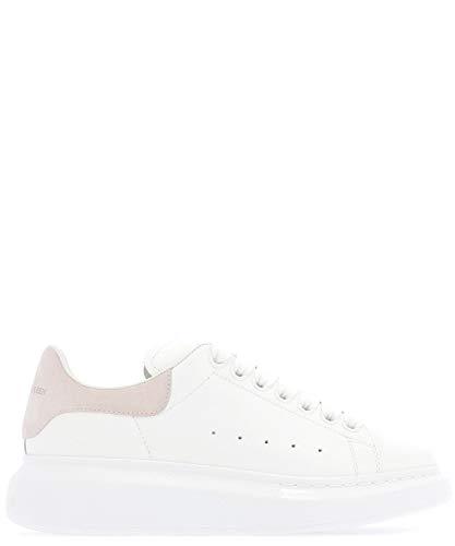 Alexander McQueen Luxury Fashion Damen 553770WHGP79182 Weiss Leder Sneakers | Jahreszeit Permanent