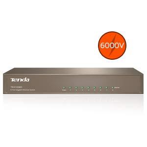 Switch Gigabit 10 Puertos Marca Tenda