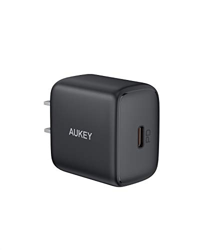 USB C Charger AUKEY Swift 20W iPhone 12 Charger PD 30 amp QC 30 USB C Power Adapter iPhone Fast Charger for iPhone 11 Pro Max Mini SE XR Galaxy Pixel iPad Pro Air Mini Switch Kindle Magsafe