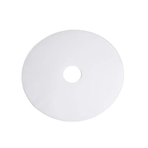 Home sweet home diffuser rond open - voor lampenkap Ø 50 cm - wit
