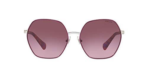 Ralph Lauren RALPH BY 0RA4124 Gafas de Sol, Silver/Purple, 60 para Mujer