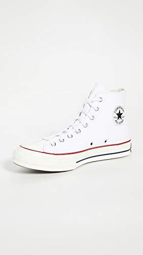 Converse Taylor Chuck 70 Hi, Sneaker Unisex-Adult, White Garnet Egret, 37 EU