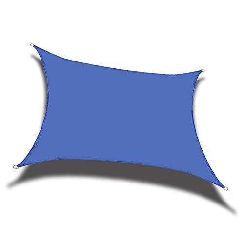 XYXH Vela De Parasol Cuadrado 3x3m, Vela De Sombra Impermeable, Toldo De Vela para Exterior, Transpirable - para Terraza Jardín Piscina Pergola Camping Balcón