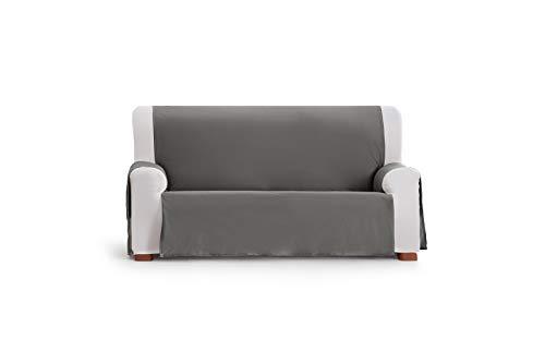 Eysa Somme Protect Funda de sofá, 100% Poliester, Gris, 110 Cm