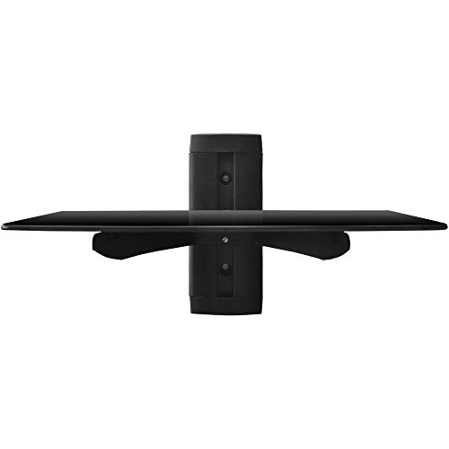 Adjustable Shelf for DVD Player, Cable Box/Receiver and Gaming Consoles with HDMI Cable, UL Certified