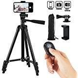 Best Tripods For IPhones - Hitch Phone Tripod,Gopro Tripod 42 Inch 106cm Aluminum Review
