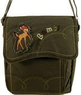 Disney Happy Bambi shoulder bags (Navy green)