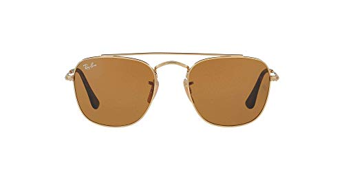 Ray-Ban Herren Rb 3557 Sonnenbrille, Gold (Gold/Brown), 51