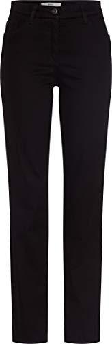 BRAX Damen Style Carola Hose, Black, W27 (Herstellergröße: 36)