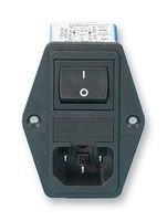SCHAFFNER FN 284-4-06 Filtro de red con interruptor, con conector 250 V/AC 4 A 1 MH 1 ud.