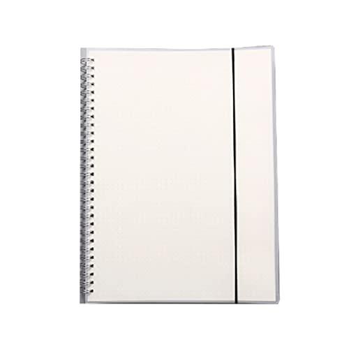 WPBOY Diario del Estudiante Cuaderno Creativo Cuaderno De Oficina Escolar Portátil Multifuncional Simple(80 Hojas/160 Páginas) (Color : Dot Inside Page, tamaño : B5)