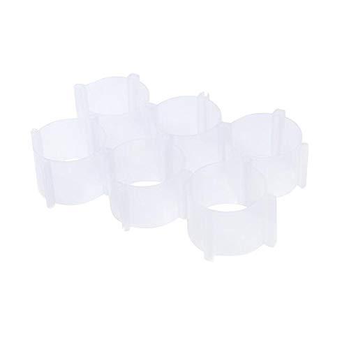 AOXING Caja antideslizante para guardar ropa interior, organizador de sujetador, cajón con celosía para ropa interior, caja divisora de almacenamiento para calcetines, sujetadores, corbatas (CL)