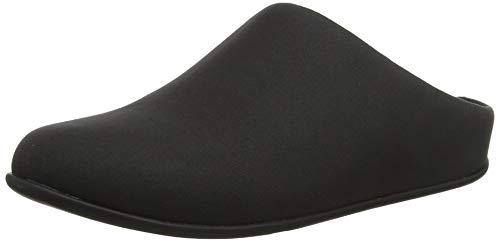 Fitflop Chrissie Zapatillas de Estar por Casa Mujer, Negro (Black 001), 39 EU (6 UK)