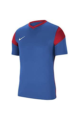 NIKE Park Derby III Pantalones Cortos de Jersey, Azul Real/Rojo Universitario/Blanco, X-Large para Hombre