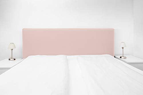 WWQQ Bettkopfteil Husse Bezug Bett Kopfteil Bezug Staubdichte Dehnbare Kopfteilbezug Verdicken Gesteppt Elastische Einfarbig Baumwolle Einfarbig R/üCkenst/üTzkissen Color : A, Size : 110-130cm