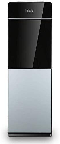 HKX Máquina expendedora Agua fría y Caliente, Fuente de Agua Potable Vertical Control de Temperatura Doble Antisecado, Familia/Oficina/Dormitorio