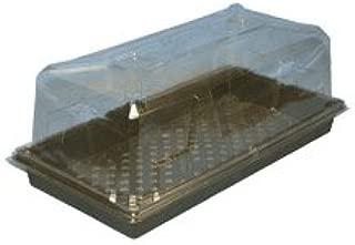 Hummert 14-3850 Humi-Domes, Clear Plastic, 11 x 21 x 6 In.