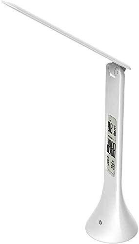 GDICONIC Lámpara LED Calendario Plegable Multifuncional para ni?os Que aprenden protección Ocular lámpara de Escritorio USB Recargable lámpara de Escritorio táctil LED 78 * 78 * 248MM