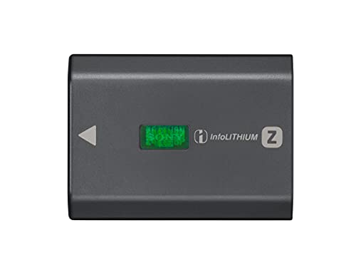 Sony NP-FZ100 - Batteria originale ricaricabile per Fotocamere Sony Alpha 6600, 7C, 7M3, 7RM3, 7RM4,