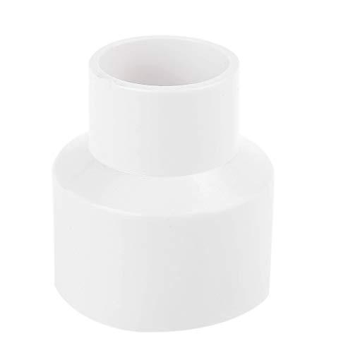 BIlinli Adaptador Reductor de carpintería de PVC para aspiradora para colector de Polvo ciclónico para carpintería