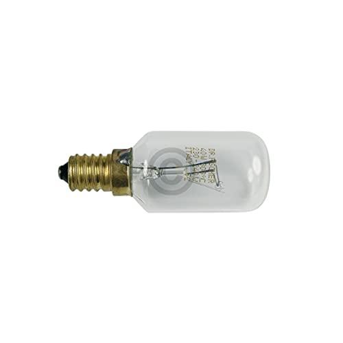 DL-pro Lampe E14 40W 230/240V bis 300°C 29mmØ 76mm für AEG Competence für AEG Electrolux Juno 319256007/0 3192560070 319256007 Backofenlampe Glühlampe Glühbirne Ofenlampe Birne für Backofen Ofen Herd