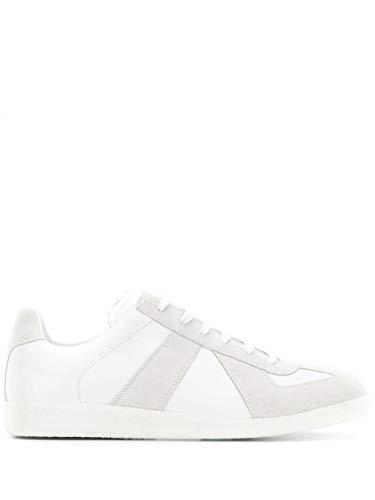 Maison Margiela Luxury Fashion Uomo S57WS0236P1897101 Bianco Pelle Sneakers | Autunno-Inverno 21