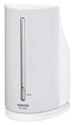 [山善]ペットボトル式加熱式加湿器(木造約3畳/プレハブ約6畳)アロマポット付ホワイトKP-C056(W)[メーカー保証1年]