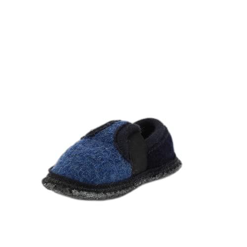 Beck Bobby 756, Zapatillas de casa de fieltro, infantil, Azul (Blau (Blau)), 26