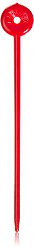 Efalock Professional Delrin-Nadeln, rot, 2er Pack, (2x 100 Stück)