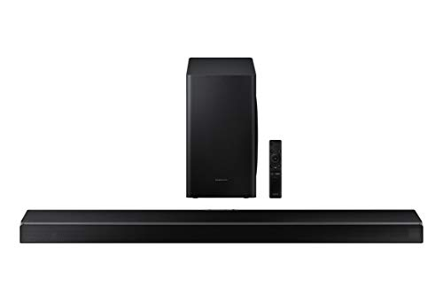 SAMSUNG HW-Q60T 5.1ch Soundbar with 3D Surround Sound and Acoustic Beam (2020) , Black