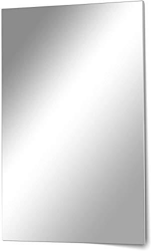 Homestyle - Specchio in cristallo, senza cornice, da parete, 50 x 70 cm