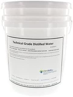 5 gallon distilled water