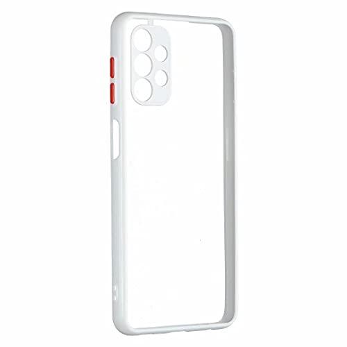 Carcasa de silicona para Xiaomi Redmi 9A, 360 grados, antigolpes, para exteriores, transparente, ultra suave, de TPU, carcasa de gel para Xiaomi Redmi 9A, color blanco