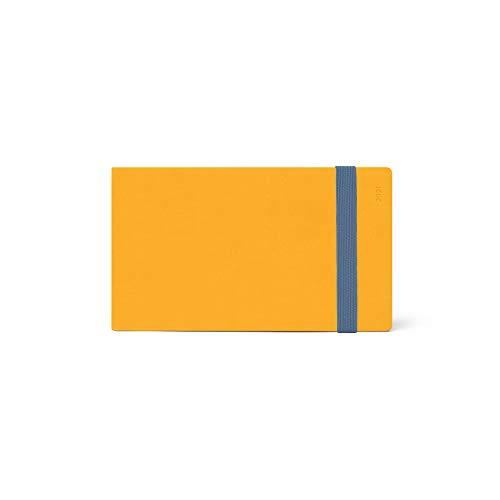 Legami Wochenplaner mit Album, 13 Monate, 2021, klein, Gelb