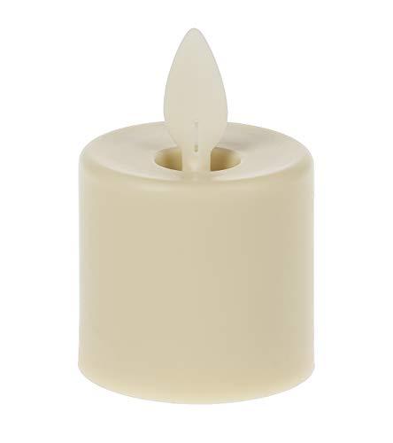 Ganz Ivory LED Tealights, Set of 4