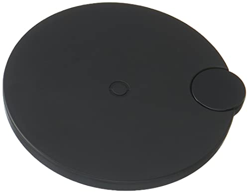 Carregador Sem Fio QI Wireless Charger 5w/7.5w/10w Com Display para Iphone Samsung Baseus Preto, Baseus, WXSX-01, Preto