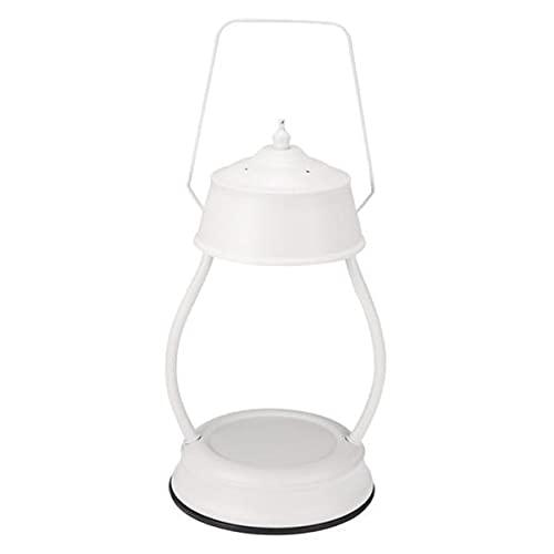 MagiDeal 2xElectric Candle Warmer Fragancia Lámpara Cera Melt Table Light SPA Home White