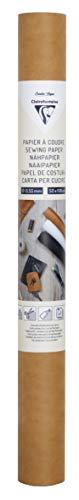 Clairefontaine 95534C - Un rouleau de papier à coudre 50x100 cm, Kraft