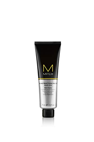 Paul Mitchell Mitch Construction Paste Elastic Hold Mesh Styler for Men 25 Ounce