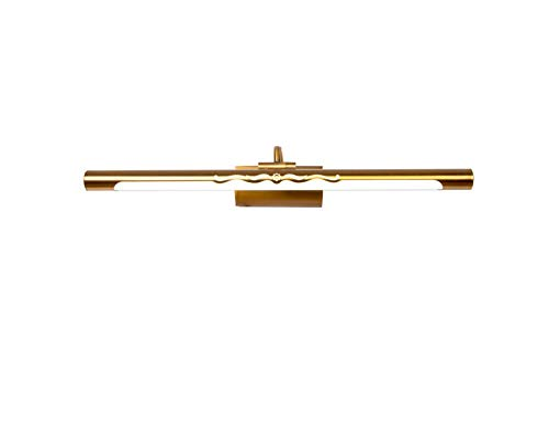 Hai Ying American spiegel LED badkamerlamp waterdicht anti-condens-/ make-up verlichting badkamer/bruin brons raam snede