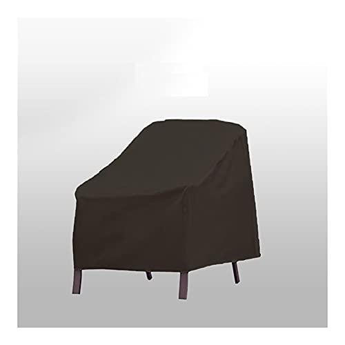 SDLSH Cubierta A Prueba De Polvo Cubierta al Aire Libre, Muebles de jardín Tapa de Lluvia, Bolsa De Almacenamiento De Cubiertas Antipolvo (Color : Black, Specification : 73x67x84 65CM)