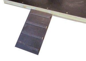 Elmato 14887 Treppe für Schwimmplattform mit Haken