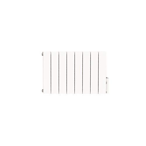 HEATZY DIO080964 - Radiateur électrique à inertie avec Thermostat connecté - Fluide caloporteur - 2000 Watts - Blanc - Gamme Blu - Bluetooth - programmable