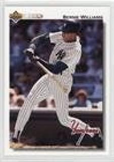 Bernie Williams (Baseball Card) 1992 Upper Deck - [Base] - Factory Set Gold Hologram #556