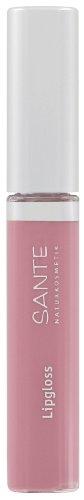 SANTE Naturkosmetik Lipgloss No. 01 nude rose, 10ml