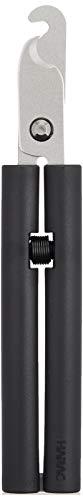 長谷川刃物 HARAC はさみ リサイクル ボトルキャップリムーバー ブラック D-EMO-CR W17.8×D3×H1.5cm