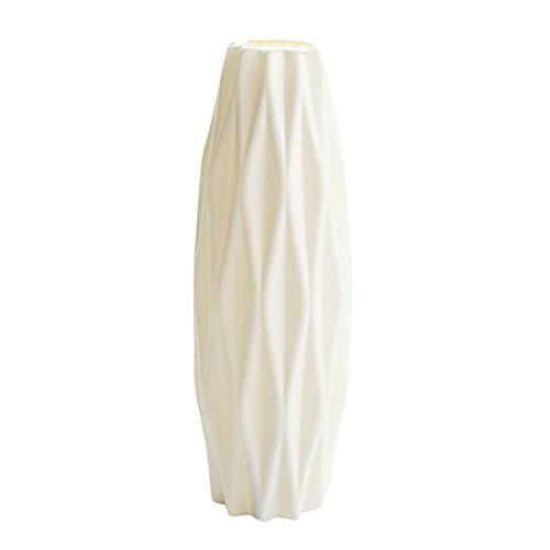 huixu, florero de plástico inastillable para Plantas, Maceta, Sala de Estudio, decoración...