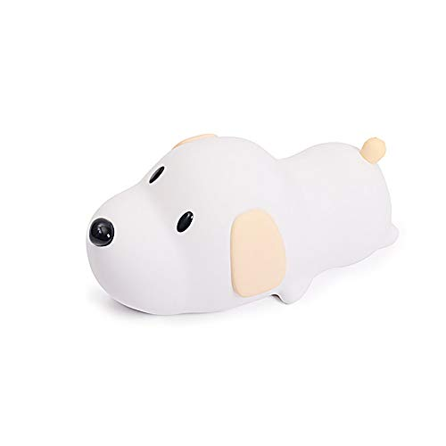 Xiao Jian nachtlampje, stil, siliconen lamp, karikatuurvorm, voor honden, slaapzak, thuis, nachtlampje